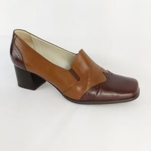 Trimond vintage leather shoes made in Italy